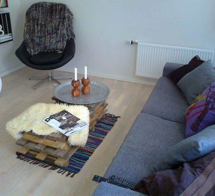 sofabord af paller