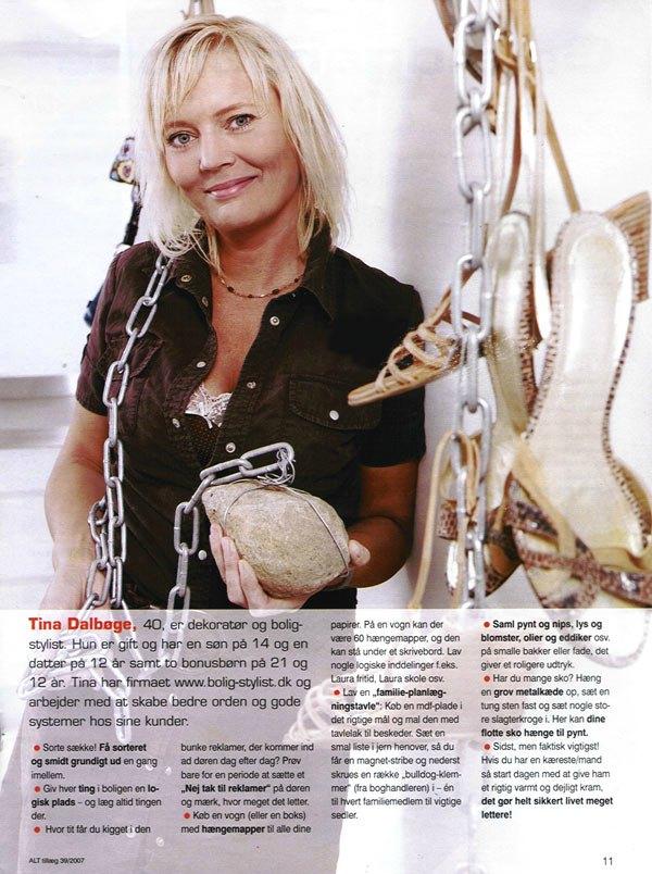 Boligstylist Tina Dalbøge giver tips og ideer til din bolig