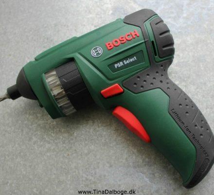 skruemaskine Bosch PSR Select