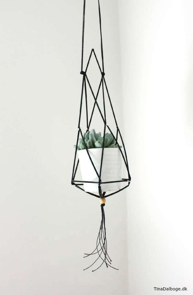 DIY planteophæng til indretning