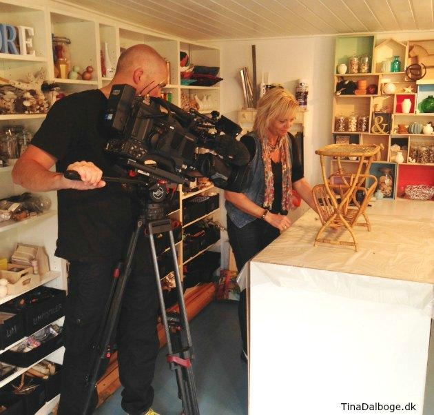 DR1 program Tina Dalbøge genbrug boligindretning