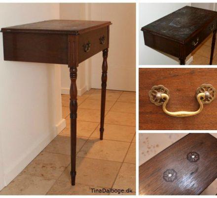Forvandling af gammelt bord med tavlemaling
