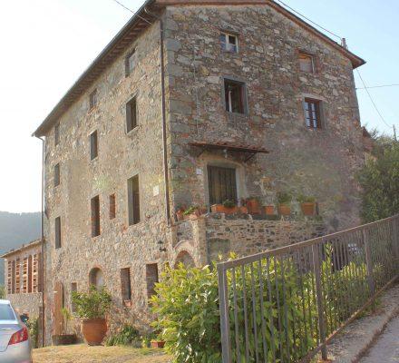 udlejningshus tæt på Lucca
