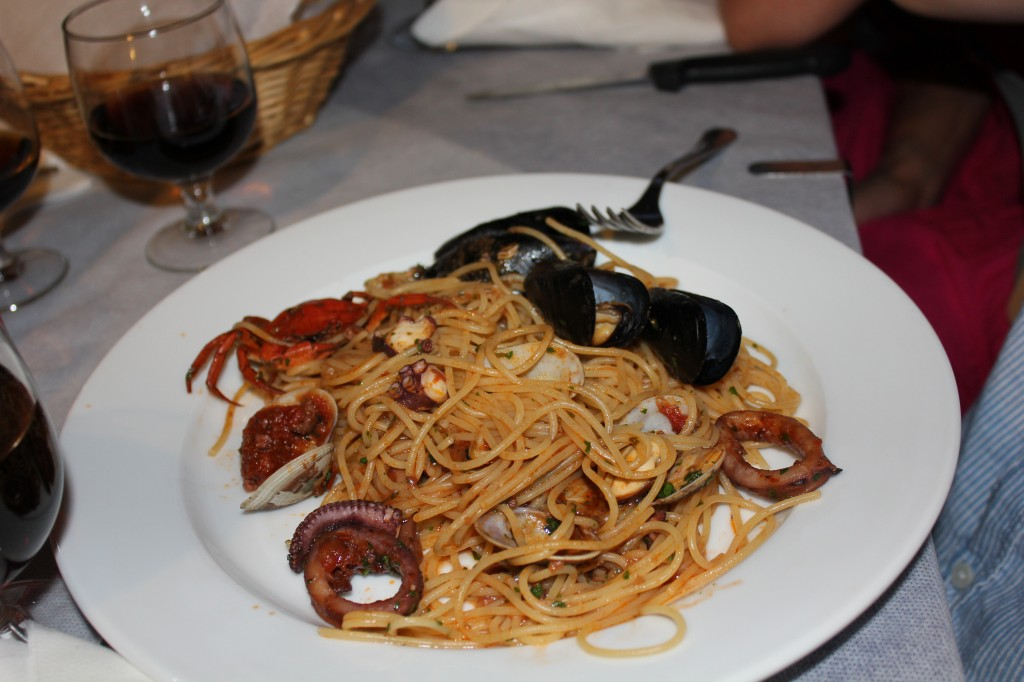   Spaghetti del mare