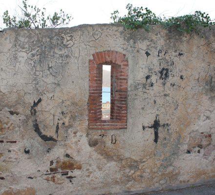 bymur, Portoferraio, Elba, Italien