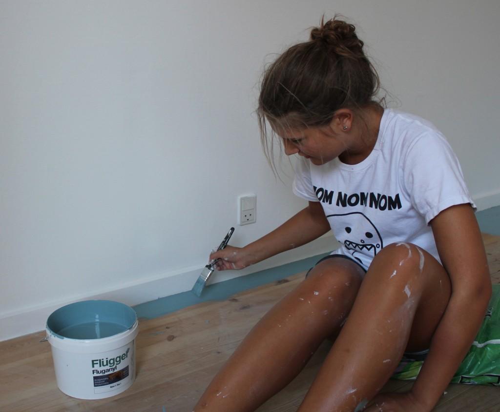 maling af trægulv