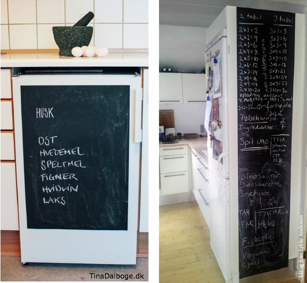 Idé med tavlefolie fra Tina Dalboges ebog Kreativ med tavler - tavlefolie fra Kreahobshop.dk3