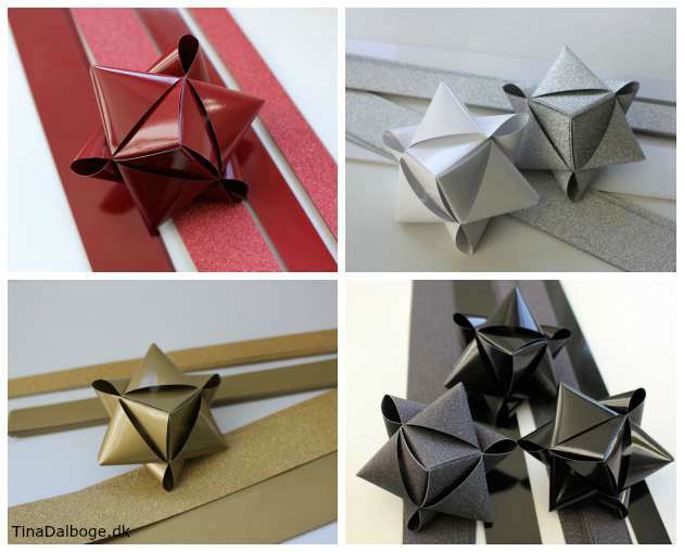 Hvordan folder man stjerner