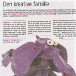Ideer til kreative ting familien kan lave - af Tina Dalbøge