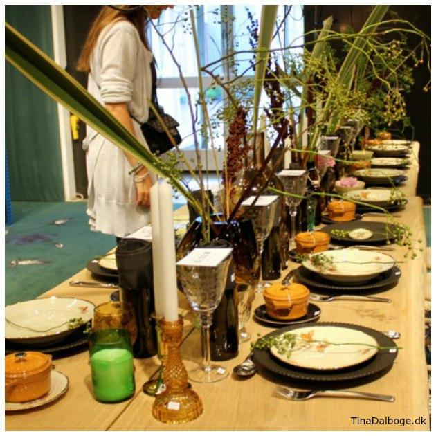 Inspiration til borddækning formland 2016