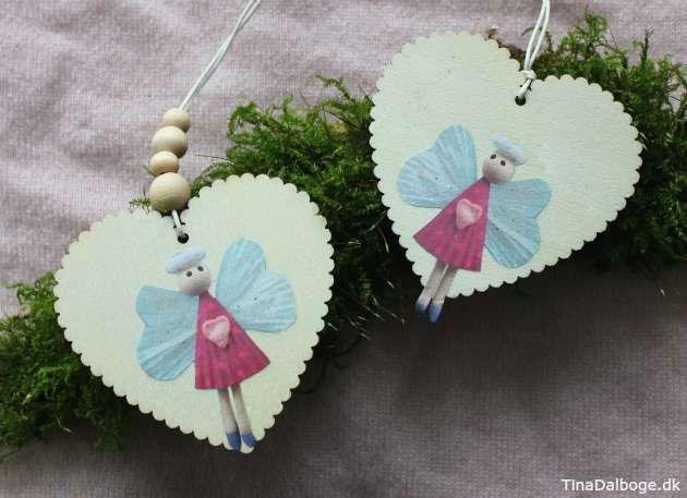 DIY hjerter lavet i træ