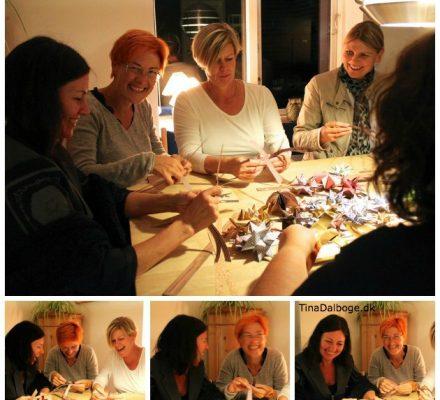 Julehygge med flettestrimler - flettestjerner og juleklip