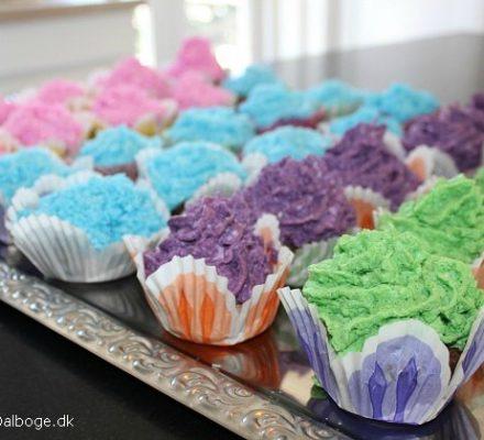 Lækre cupcakes