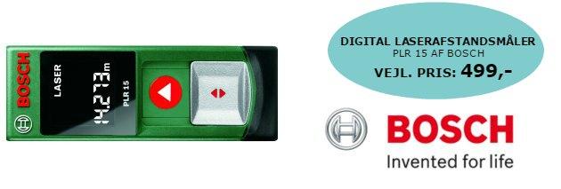 Konkurrence - Tina Dalboge - Digital laserafstandsmaaler