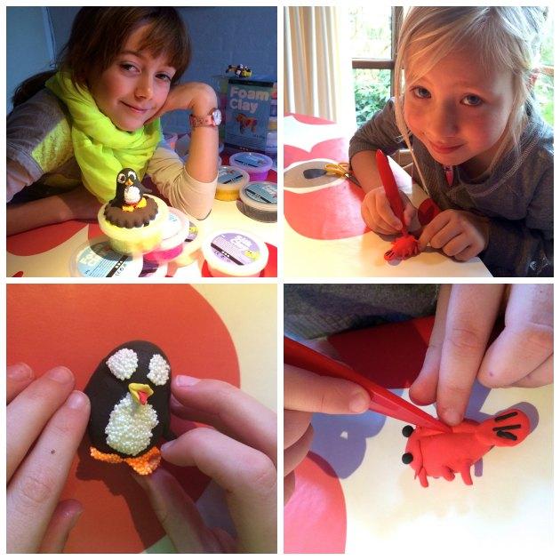Kreative ideer børn selv kan lave med silk clay og foam clay