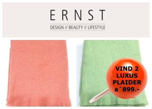 Kvalitetsplaid fra design butikken Shop Ernst