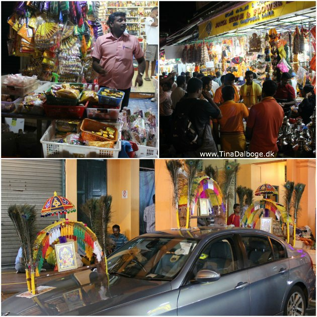 Thaipusam in little India, Singapore