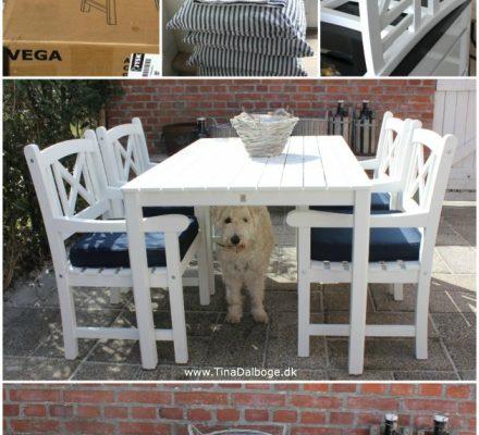 Hvide skagen havemøbler i en god kvalitet