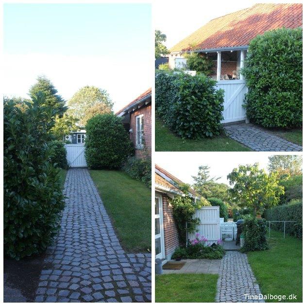 Ny terrasse med pallemøbler og udekøkken   se før  og ...