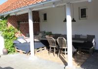 terrasse bygget op af paller