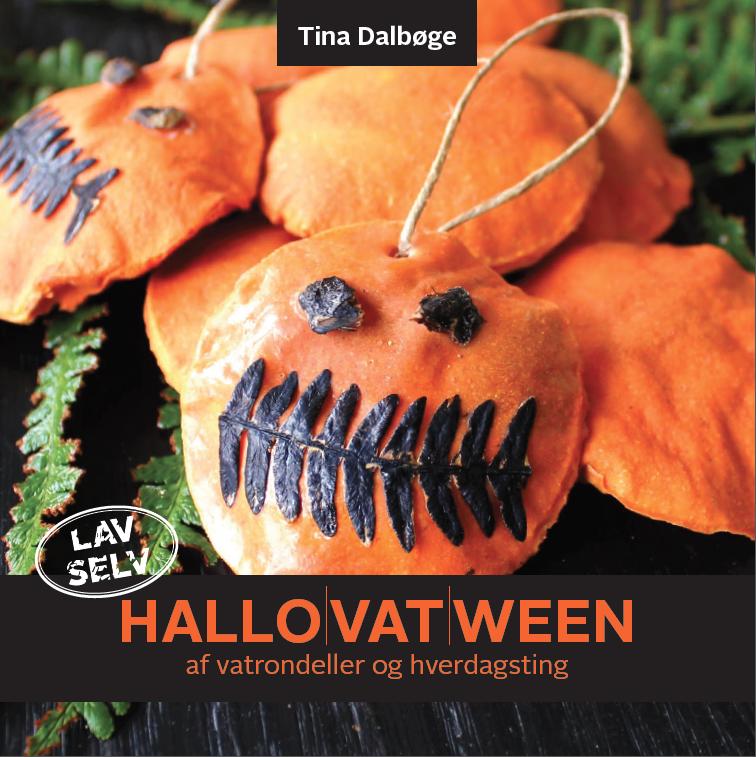 e-bog med idéer til halloween, hallovatween af Tina Dalbøge