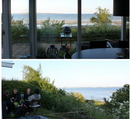 Sommerhus med havudsigt Skæring strand Aarhus
