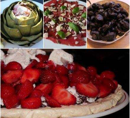 sommer mad til gæster