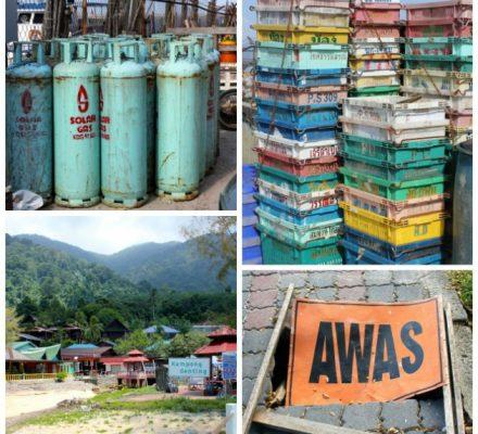 Stemningsbilleder og farver fra Malaysia