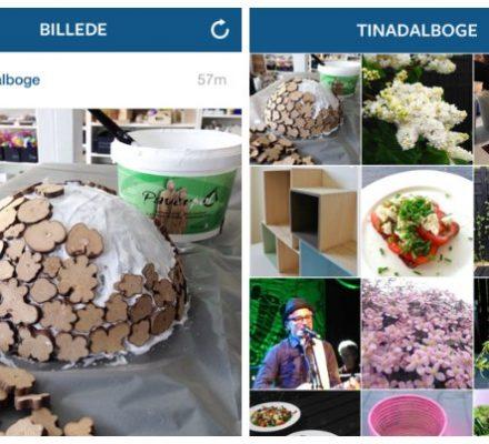 Tina Dalbøge Instagram