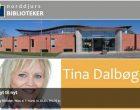 Tina Dalbøge holder foredrag om boligindretning på bibliotek