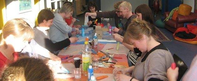 Kurser med kreative ideer til vuggestuer, børnehaver, dagplejere