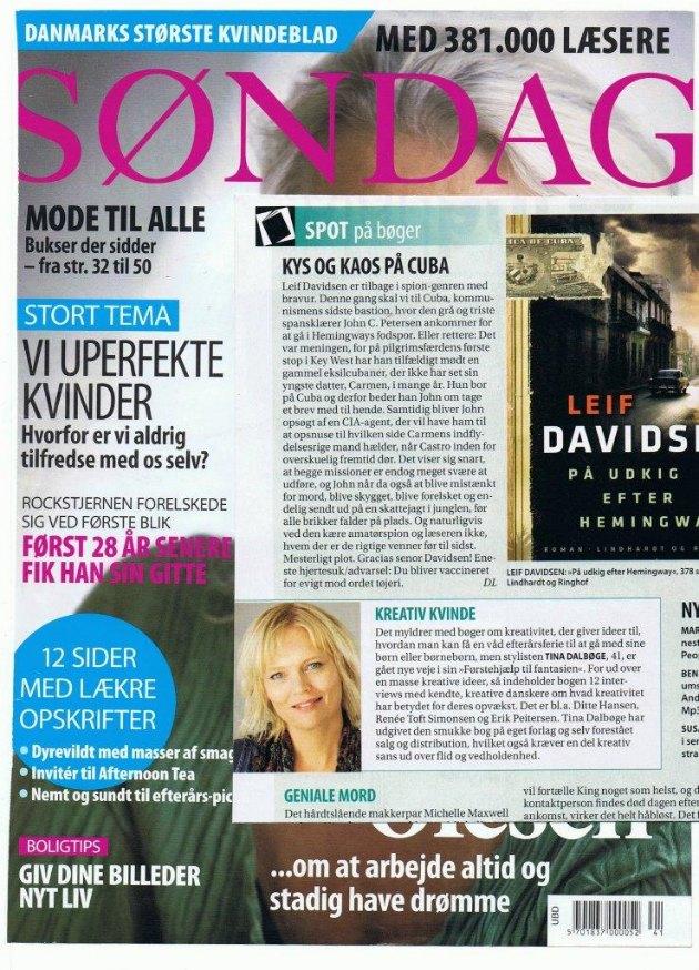 Kreativ blogger og forfatter Tina Dalbøge