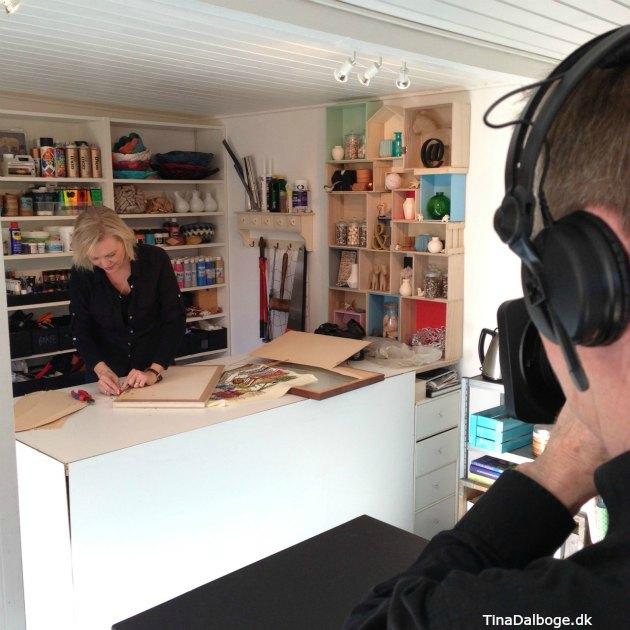 Tina Dalbøge laver fjernsyn på DR1