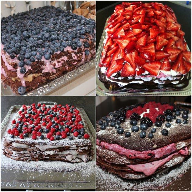 lækker lagkage der er let at lave - Kage der egner sig til buffet og dessert
