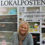 artikel i bupl om Tina Dalbøges kreative ideer til børn af genbrug