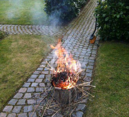 zinkbalje til afbrænding