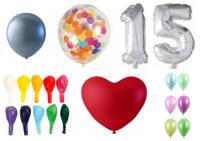 Klik og se et stort udvalg af balloner i min Kreashop.dk