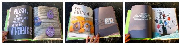 billeder fra bogen let påskepynt af tina dalbøge udgivet på turbine forlaget
