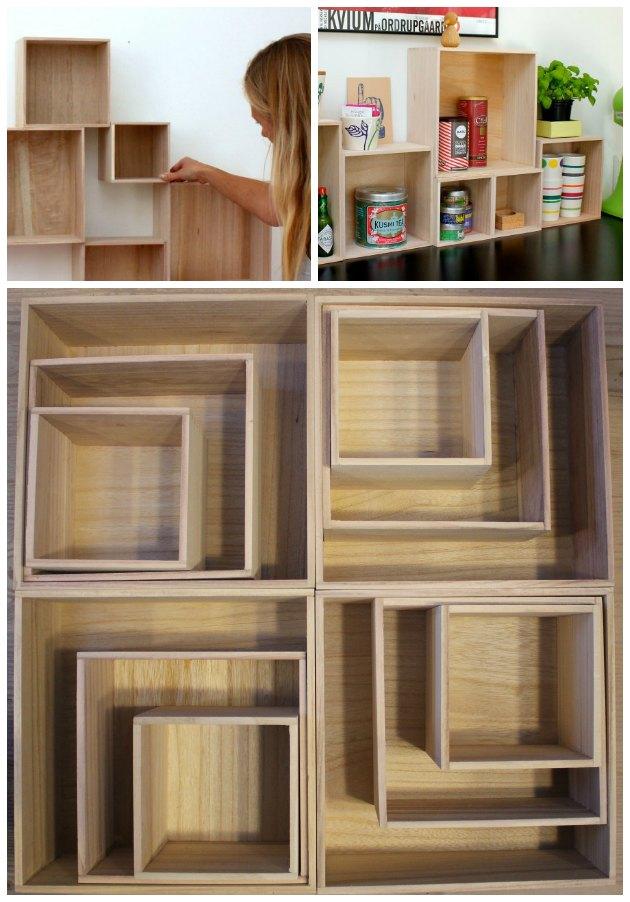 boligindretning billige bogkasser og traekasser