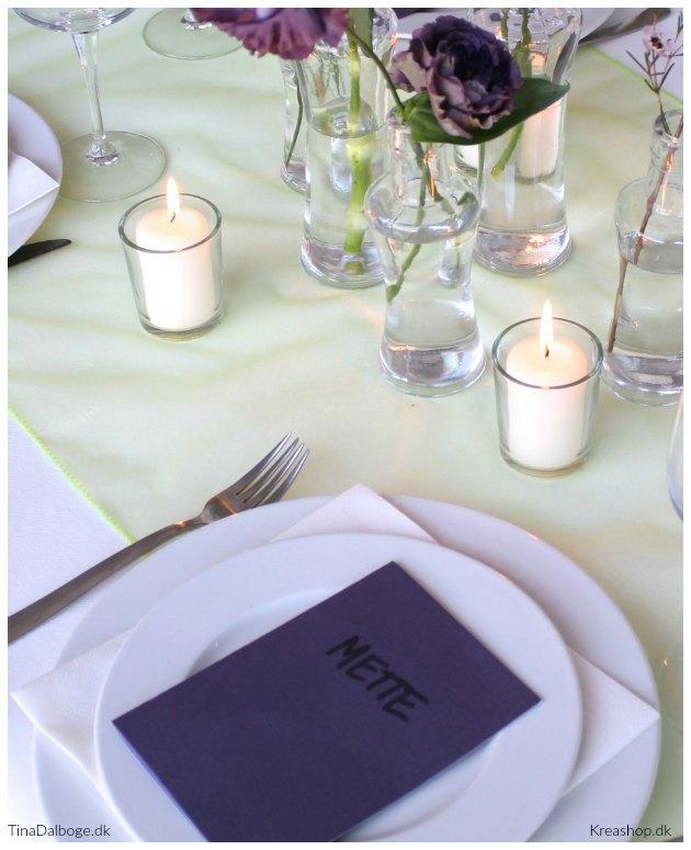 bordkort bordpynt bordløber kreashop tinadalboge