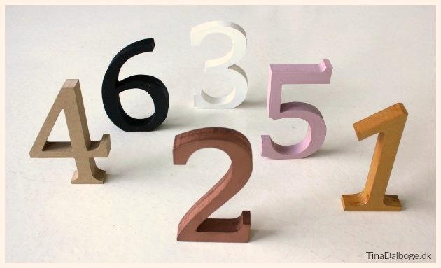 bordnumre til numre på borde til fester tinadalboge