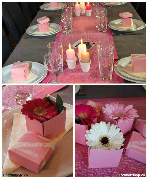 pink bordpynt