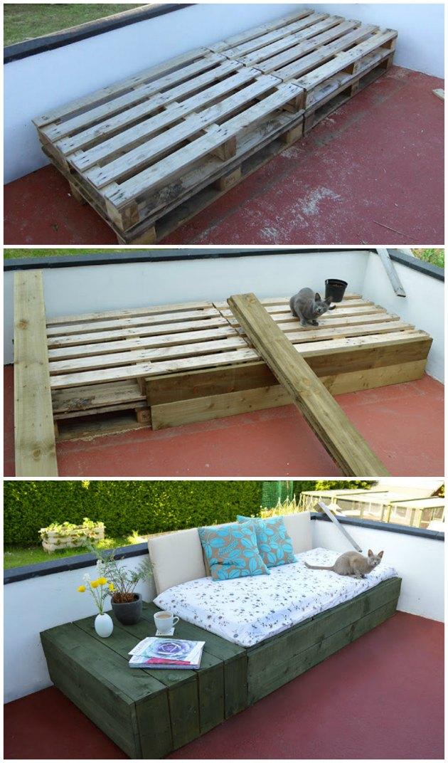 Byg selv sofa af paller