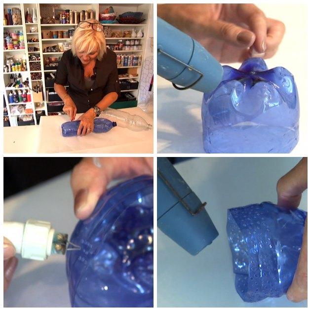 engangs flasker genbrug til lysglas og orkideglas i programmet fra yt til nyt på dr1 tina dalboge