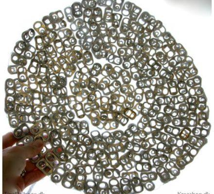 fad lavet af dåseclips og paverpol tinadalboge kreashop