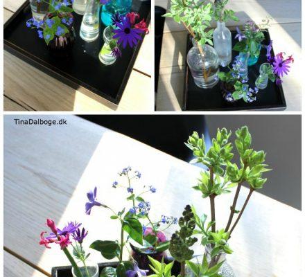 festligt og naturligt bordpynt