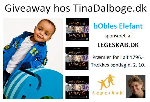 Give away hos Tina Dalbøge