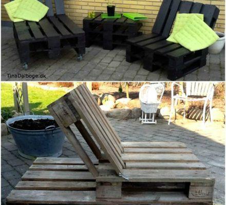 hjemmelavede havemøbler