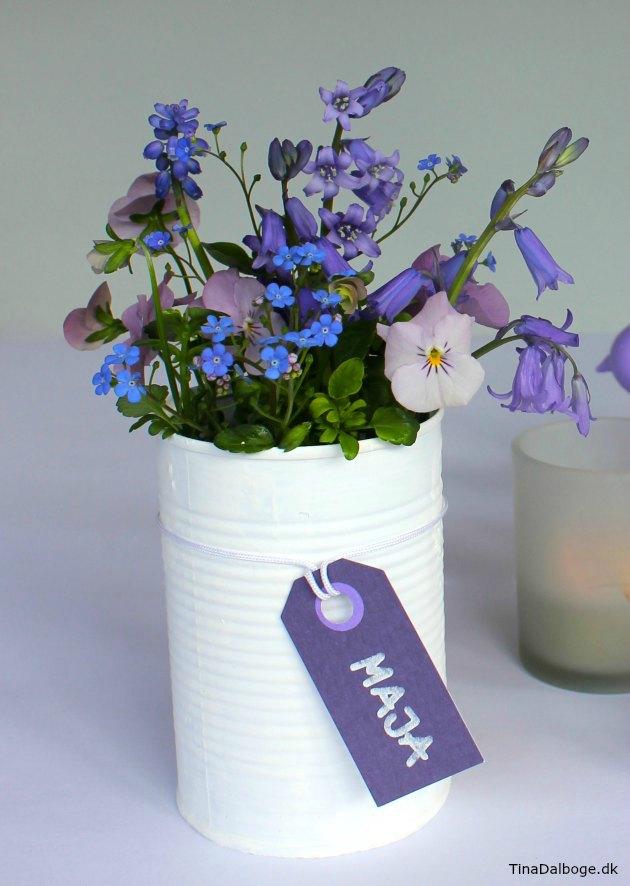 inspiration til blomster - bordpynt og bordkort til fester