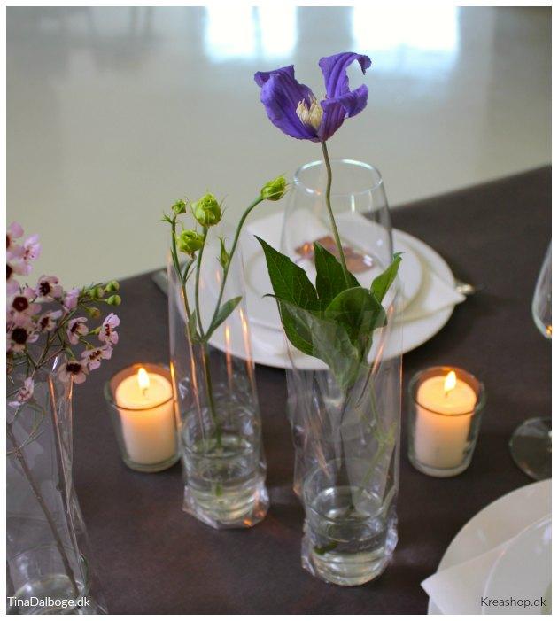 inspiration til borddækning og bordpynt til fester tinadalboge
